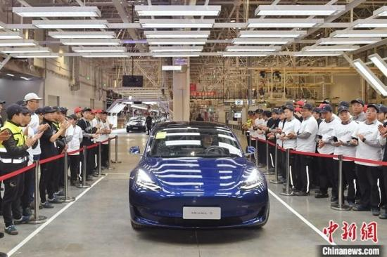 First batch of China-made Tesla sedans arrives at Belgium's